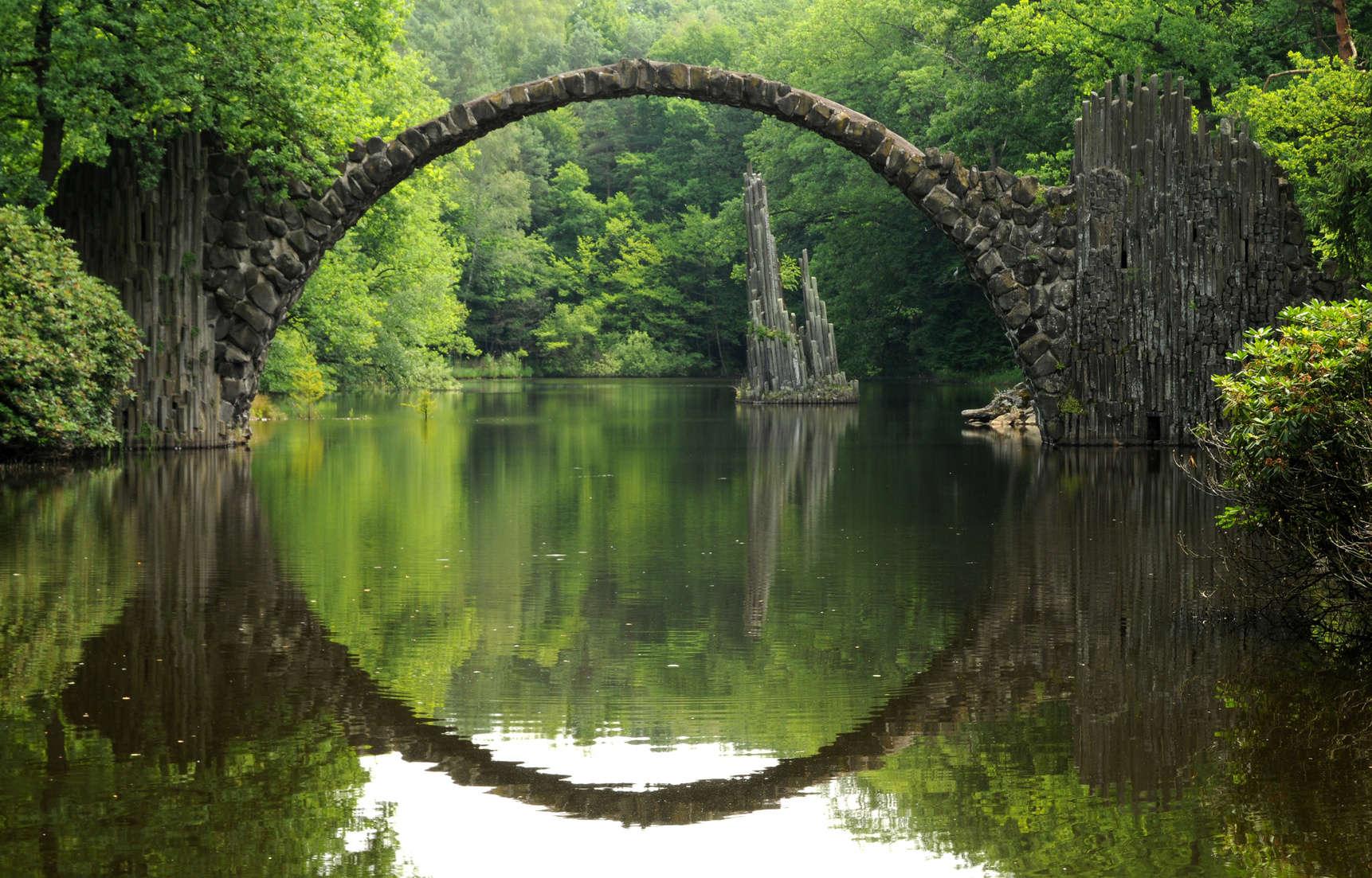 Rakotzbr cke mobi viaggi for Piani di fondazione del ponte