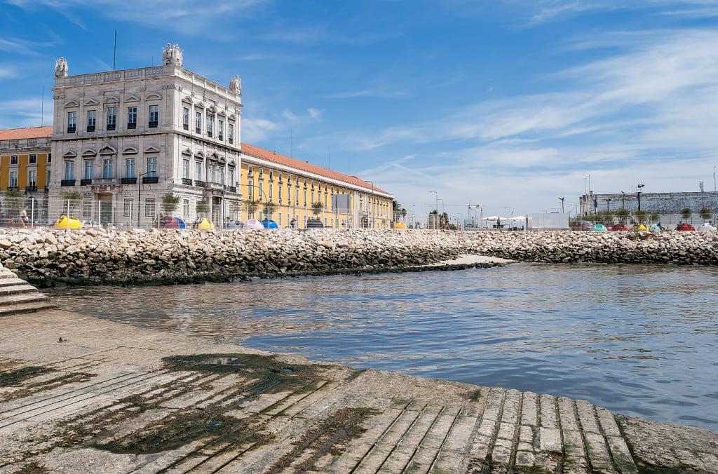 Lisbon central square